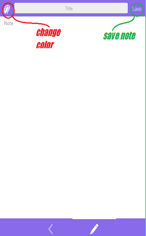یادداشت برداری به صورت روزانه 4NOTES PRO اندروید