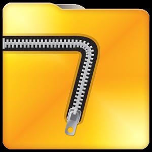 نرم افزار کاربردی مدیریت فایل های فشرده برای اندروید 7Zipper 2.0