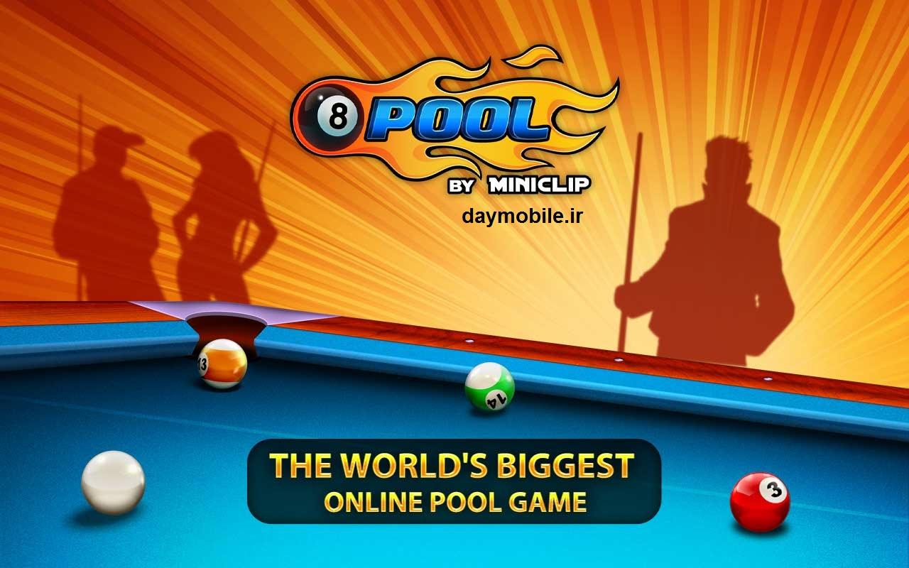 دانلود بازی بیلیارد آنلاین برای اندروید 8 Ball Pool