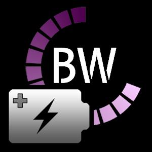برنامه نمایش وضعیت باتری در استاتوس بار برای اندروید Battery Widget Plus