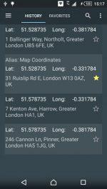 دانلود برنامه پيدا كردن مختصات محل فعلي در اندرويد Map Coordinates