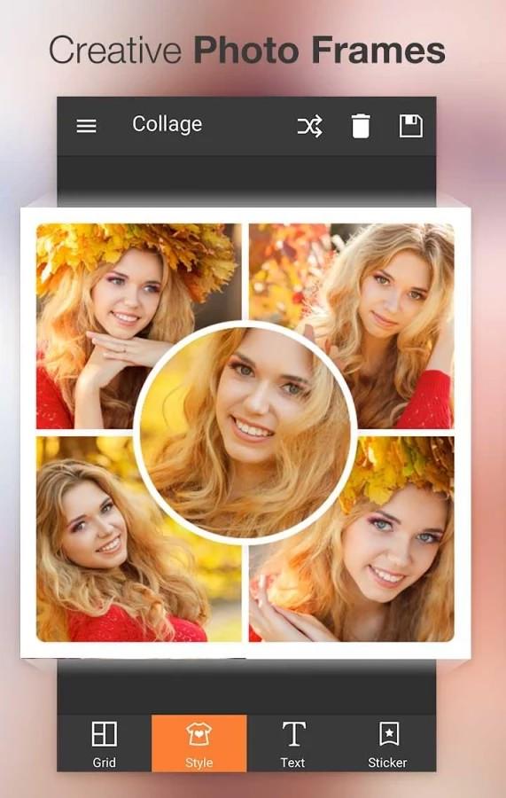 نرم افزار زیبا سازی تصاویر برای اندروید Photo Collage Maker