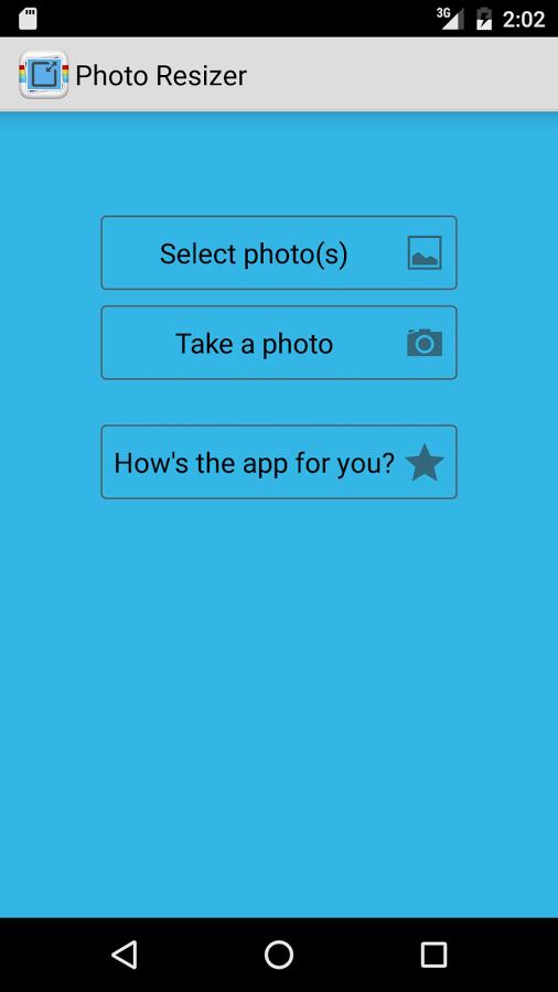 دانلود نرم افزار کاهش حجم عکس ها برای اندروید Photo & Picture Resizer