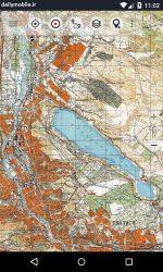 نمايش و دسترسي به نقشه خارج از جاده در اندرويد Soviet Military Maps