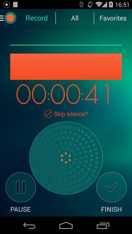 برنامه ضبط خودکار صدا برای اندروید Voice Recorder - Dictaphone