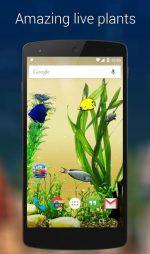 دانلود لایو والیپر سه بعدی ماهی برای اندروید Aquarium Live Wallpaper Pro