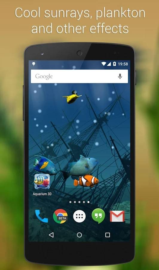 Aquarium Live Wallpaper Pro android
