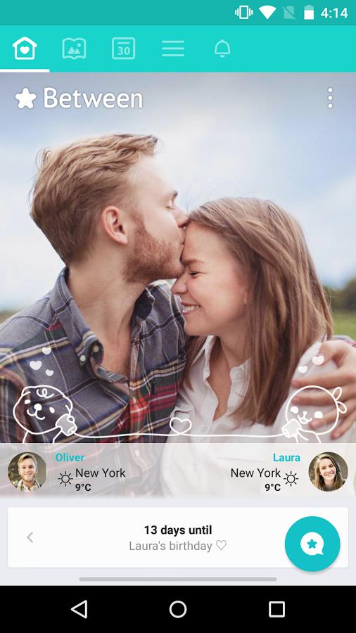 دانلود برنامه چت عاشقانه و دو نفره Between - Private Couples App اندرويد