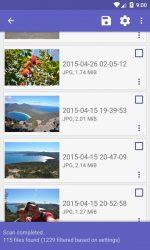 برنامه بازیابی اطلاعات و فایل های حذف شده برای اندروید DiskDigger Pro file recovery