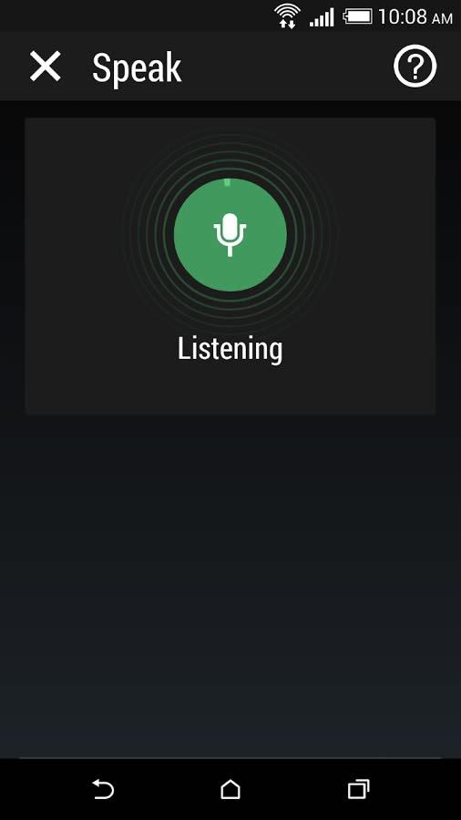 دانلود برنامه اندروید کنترل گوشی های HTC با صدا HTC Speak