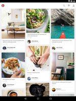 برنامه اشتراک گذاری عکس پینترست برای اندروید Pinterest