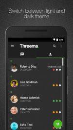 دانلود مسنجر فوق العاده تریما برای اندروید Threema