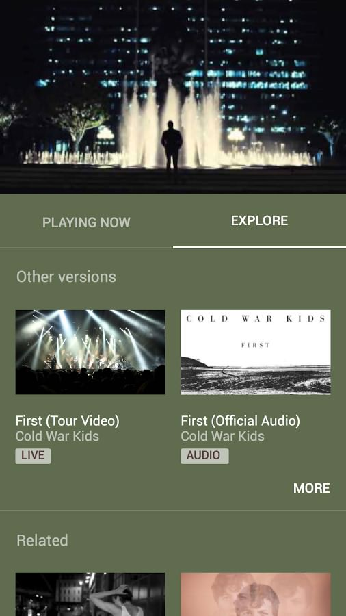 دانلود برنامه یوتیوب موزیک برای اندروید YouTube Music