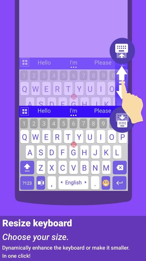 برنامه کیبورد هوشمند برای اندروید ai.type toetsenbord PLUS