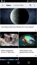 دانلود نسخه جدید برنامه ناسا برای اندروید NASA App