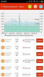 نرم افزار اندازه گیری فشار خون برای اندروید iCare Blood Pressure Pro