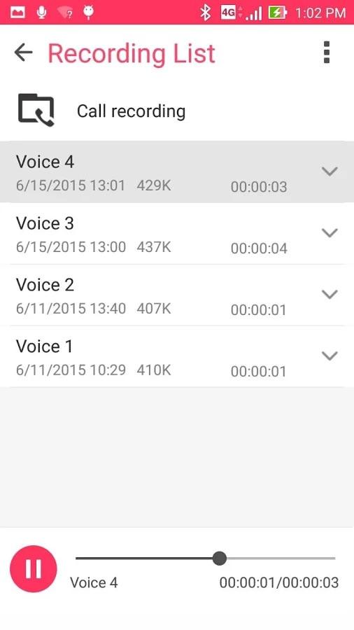 برنامه ضبط صدای ایسوس برای اندروید ASUS Sound Recorder