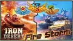 دانلود بازی اکشن صحرای آهن – طوفان آتش اندروید Iron Desert - Fire Storm