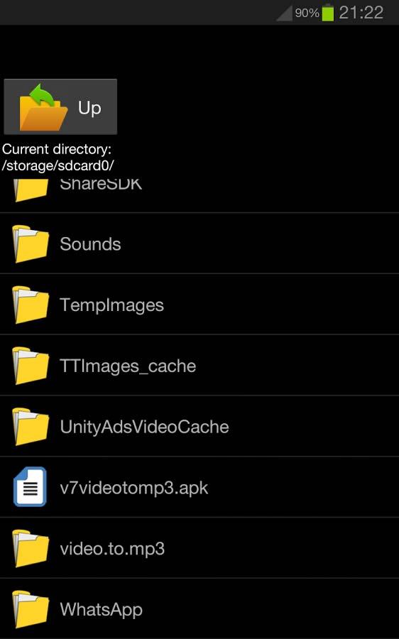 نرم افزار تبدیل ویدیو به فایل صوتی برای اندروید Video to Mp3 Converter