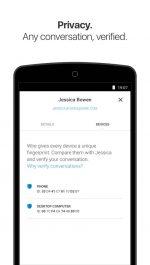 مسنجر وایر تماس صوتی و تصویری برای اندروید Wire Private Messenger