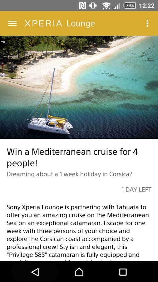 دانلود برنامه Xperia Lounge (entertainment) سونی
