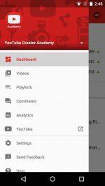 دانلود برنامه مدیریت کانال در یوتیوب برای اندروید YouTube Creator Studio