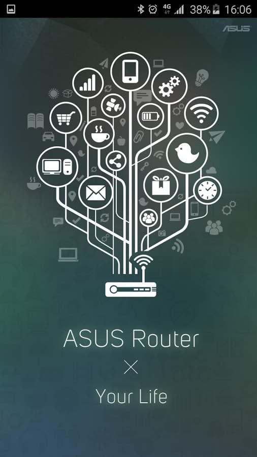 برنامه مدیریت روترهای ایسوس با اندروید ASUS Router