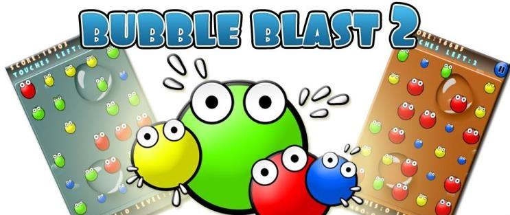 دانلود بازی ترکاندن حباب ها برای اندروید Bubble Blast 2