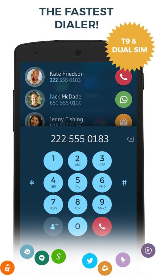 Contacts & Dialer by drupe25