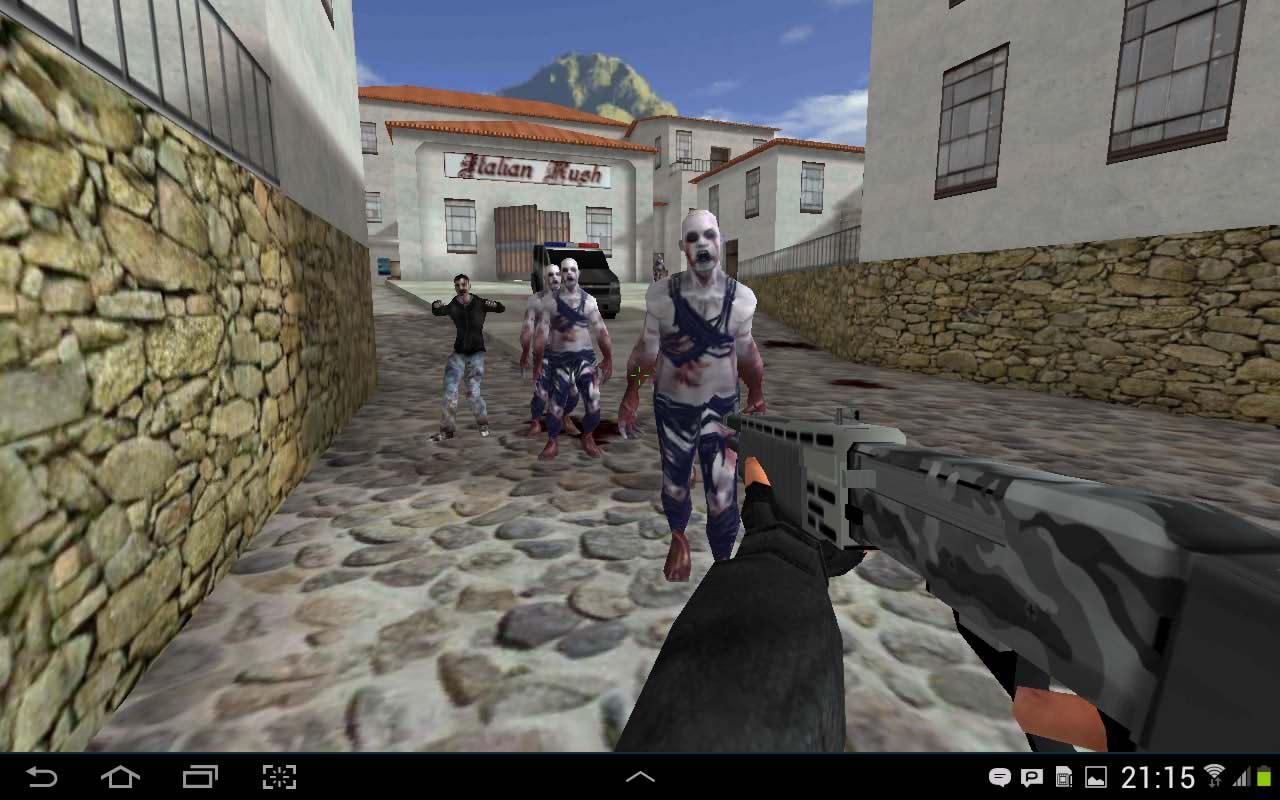 بازی اکشن کانتر استریک برای اندروید Critical Strike Portable