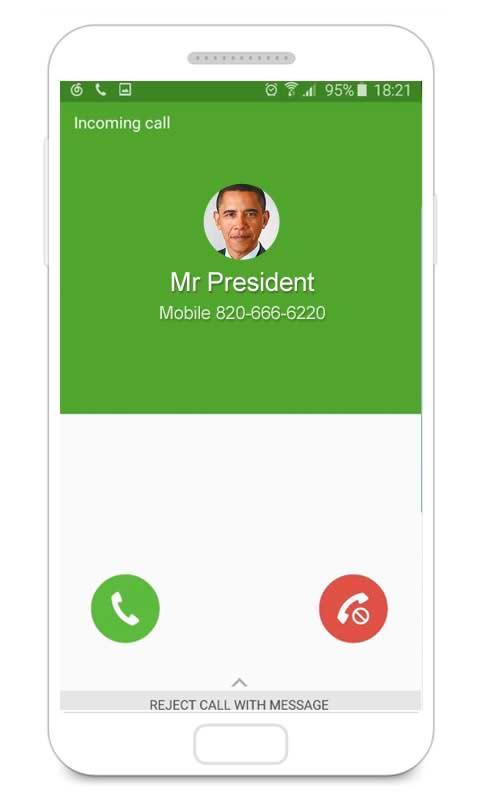 دانلود برنامه تماس جعلی برای اندروید - اپلیکیشن فیک کال اندروید Fake Call