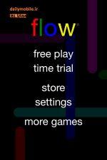 دانلود بازی فکری برای اندروید Flow Free
