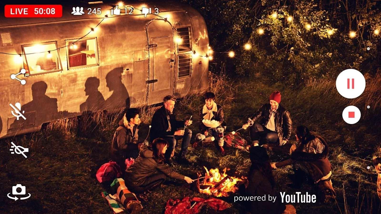 پخش زنده از یوتیوب برای اندروید Live on YouTube – by Xperia