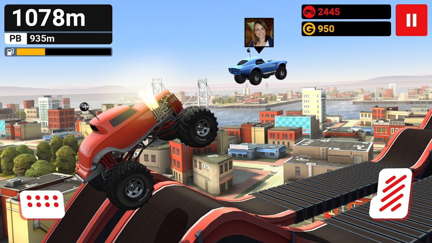دانلود بازی صعود کامیون ها برای اندروید MMX Hill Climb