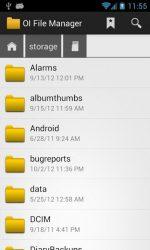 دانلود برنامه مدیریت فایل اندروید OI File Manager ANDROID APP