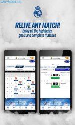 دانلود برنامه اندروید باشگاه رئال مادرید Real Madrid App