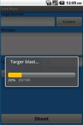 دانلود برنامه ارسال پیامک پشت سر هم برای اندروید SMS Blast