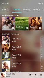 برنامه موزیک پلیر سامسونگ اندروید Samsung Music