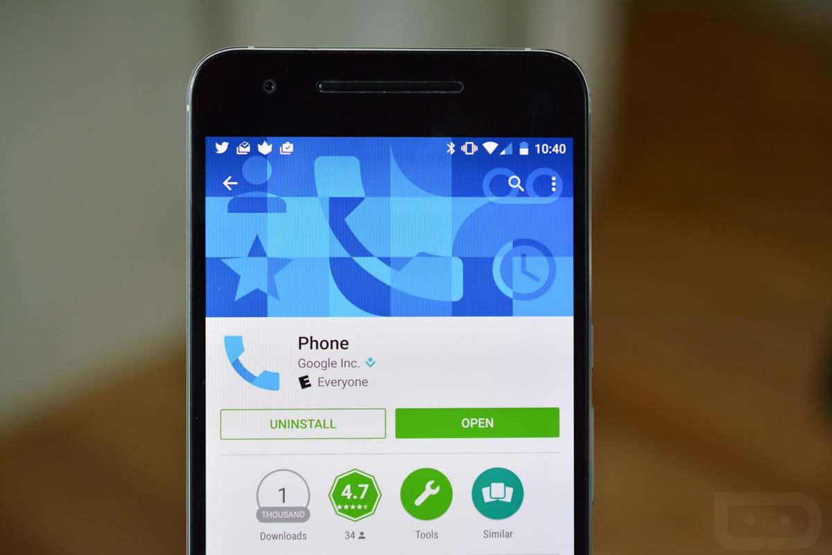 برنامه بلاک لیست گوگل برای اندروید Google Phone