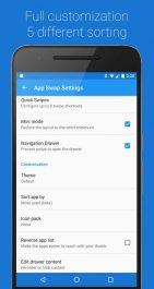 دسترسی سریع به برنامه های اندروید App Swap Drawer