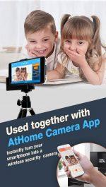 برنامه تبدیل اندروید به دوربین مدار بسته AtHome Video Streamer- Monitor