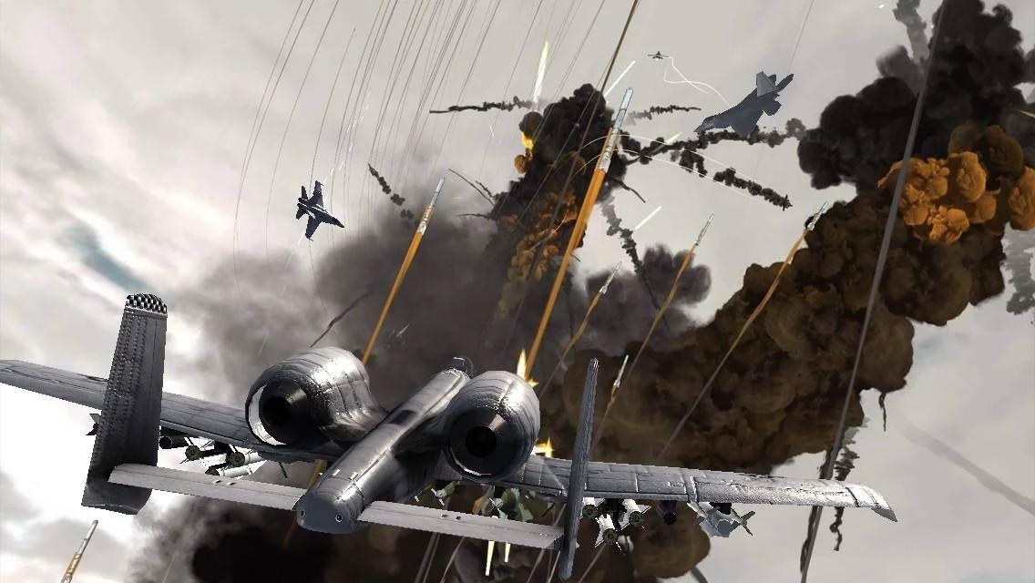 بازی جت های جنگنده اندروید Call Of ModernWar:Warfare Duty