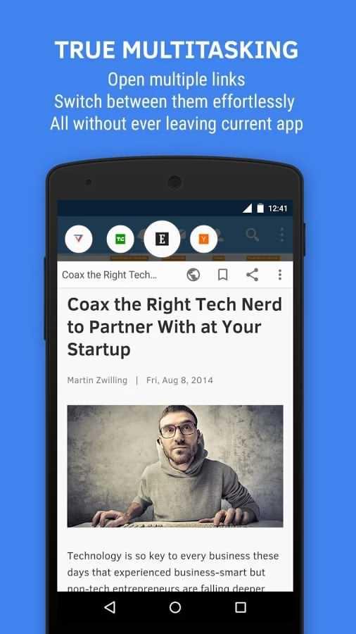 دانلود برنامه اندروید Flynx - Read the web smartly
