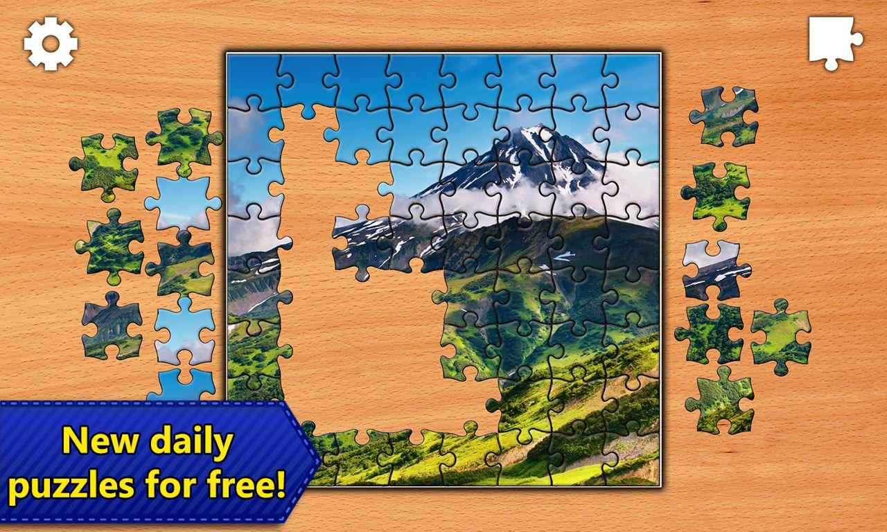 دانلود بازی پازل اندروید Jigsaw Puzzles Epic