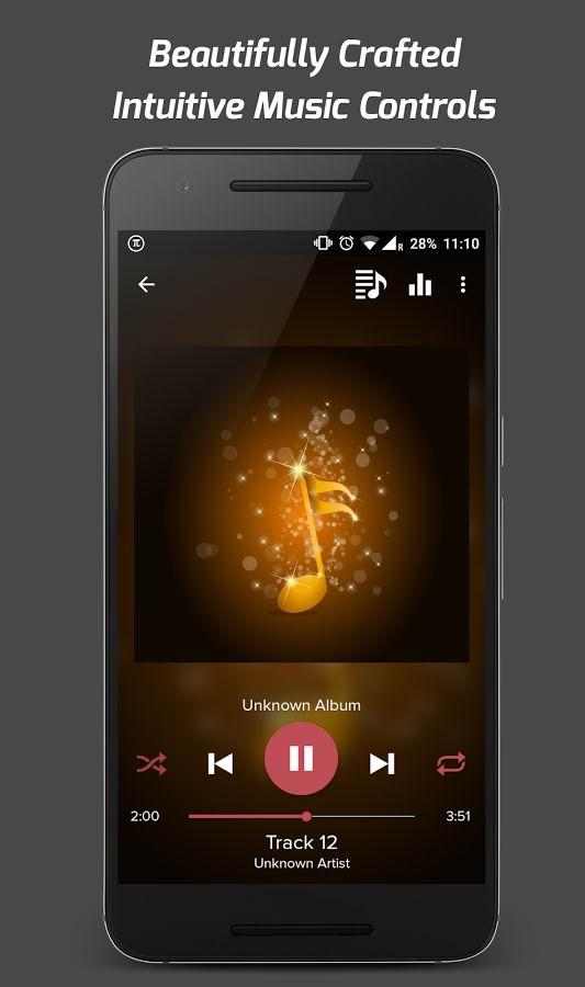 دانلود موزیک پلیر زیبای اندروید Pi Music Player