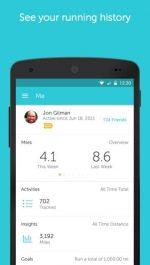 نرم افزار ورزشی اندروید Runkeeper - GPS Track Run Walk