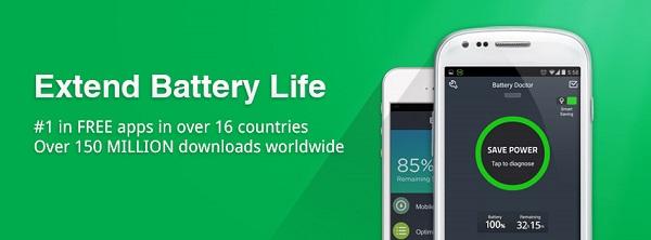 برنامه کاهش مصرف باتری گوشی های اندرویدی Battery Doctor (Battery Saver)