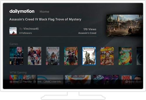برنامه تماشای آنلاین فیلم اندروید Dailymotion