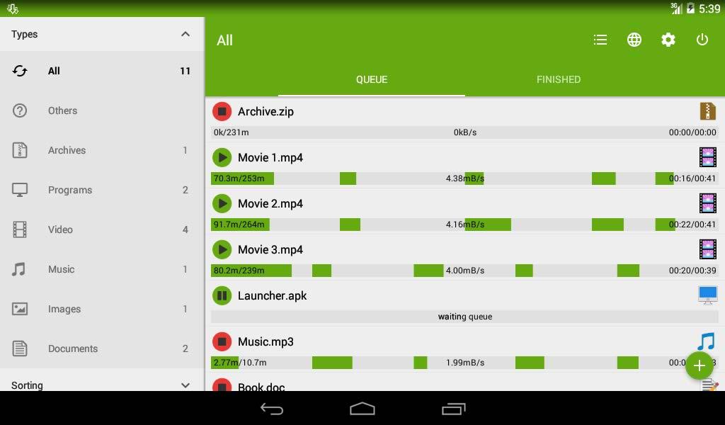 دانلود منجر حرفه ای برای اندروید Advanced Download Manager Pro