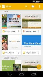 دانلود برنامه ساخت اسلاید گوگل برای اندروید Google Slides